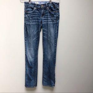 GAP | Ankle Zip Straight Skinny Jean